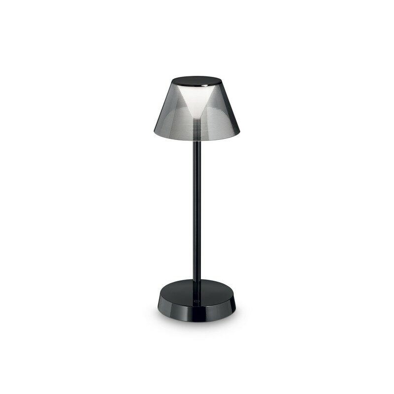 Lampe de table à batterie IP44 LED Lolita noire