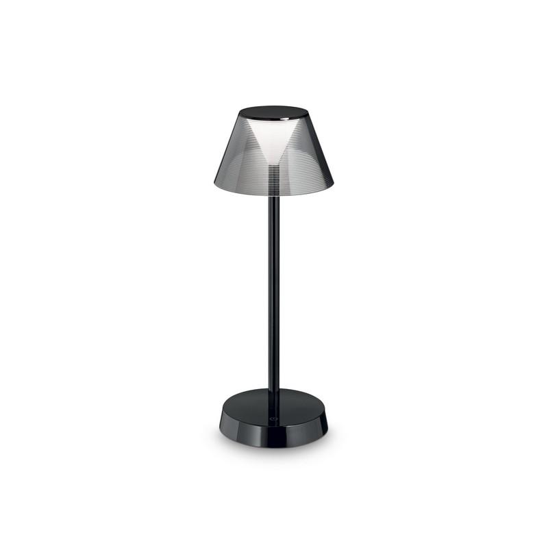 Lampe de table à batterie IP44 LED Lolita noire