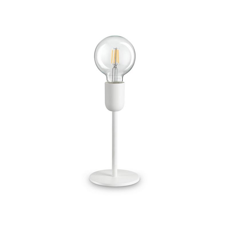 Lampe à poser blanche 1 lumière Microphone