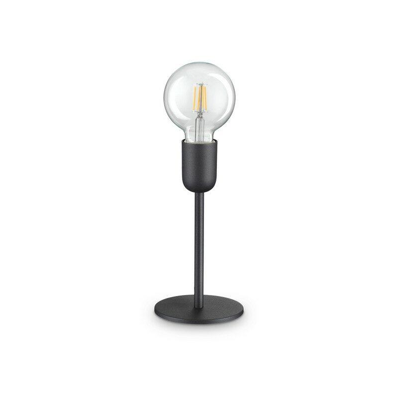 Lampe à poser noire 1 lumière Microphone