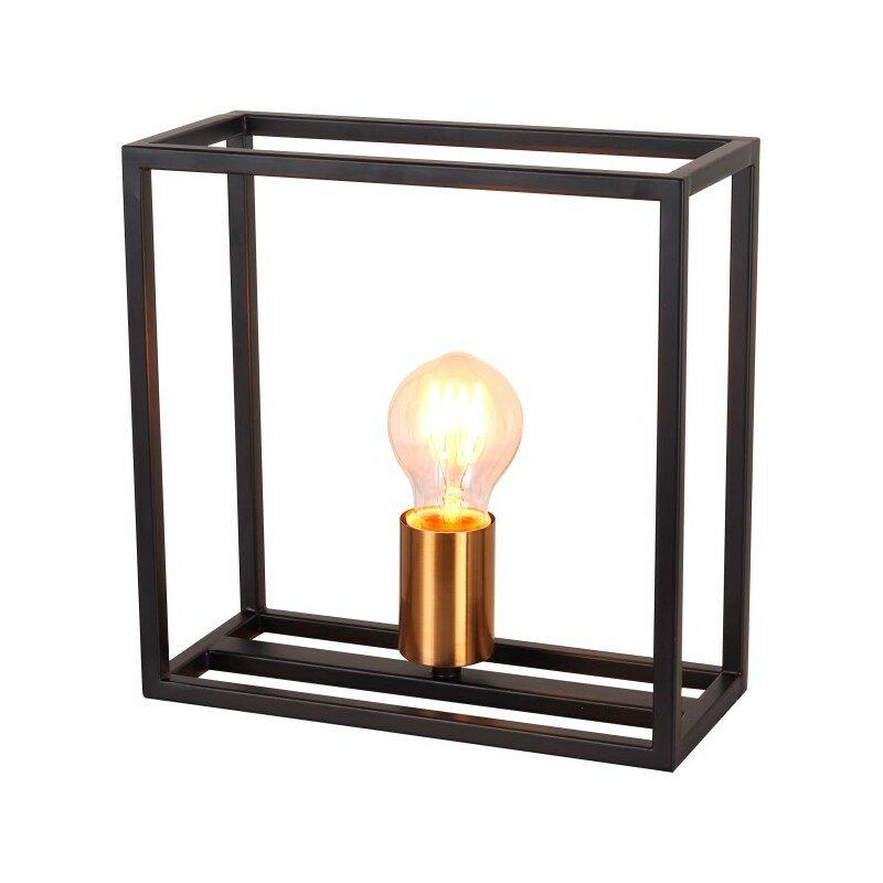 Lampe à poser noire Agora