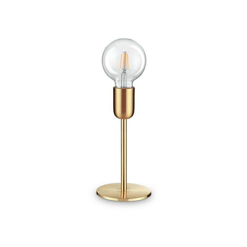 Lampe à poser laiton 1 lumière Microphone