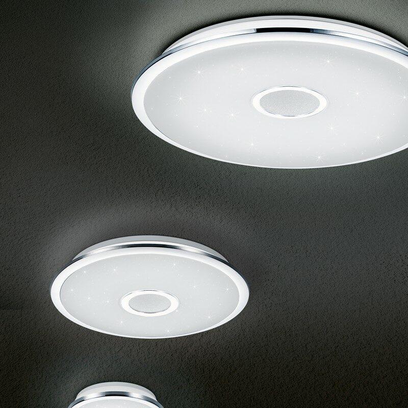 Plafonnier Osaka LED blanc 65 cm