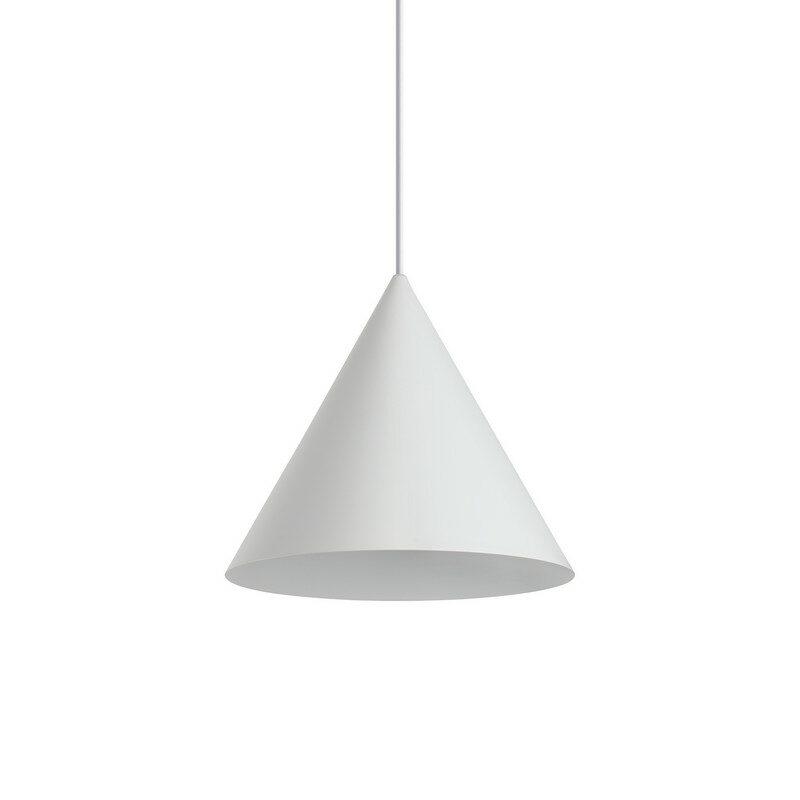 Suspension blanche A-line 1 lumière grand modèle