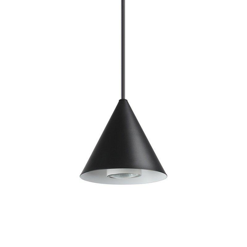 Suspension noire A-line 1 lumière petit modèle