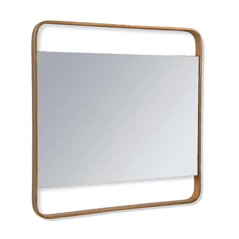 Miroir Reflet laiton antique