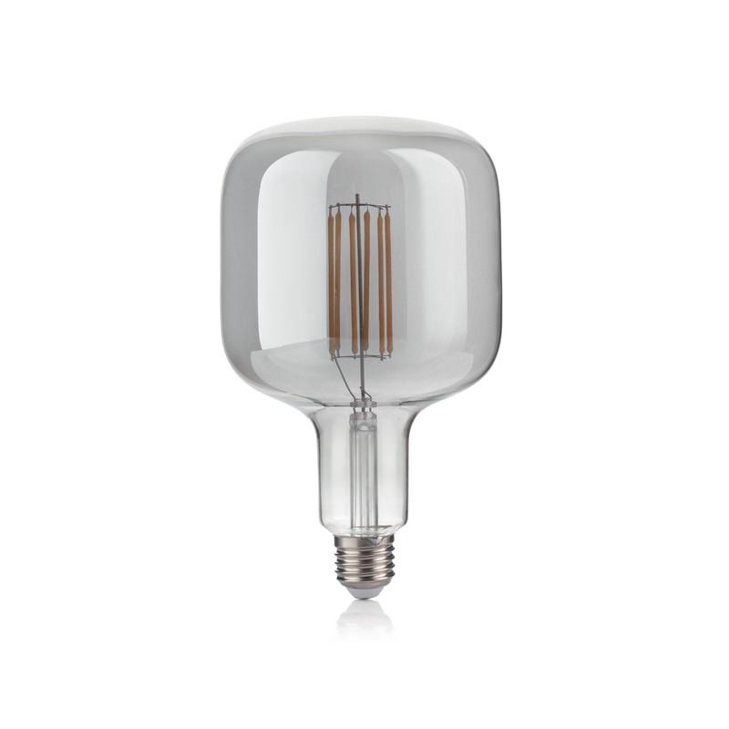 Ampoule LED Bullet vintage E27 6 watts fumée