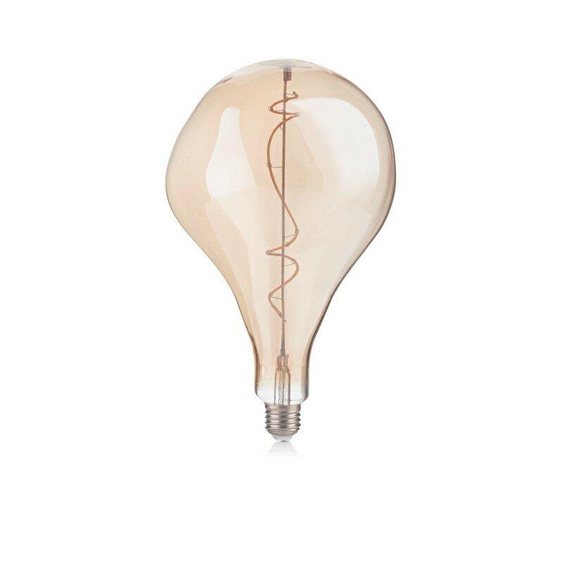 Ampoule LED Crash vintage E27 4 watts ambrée