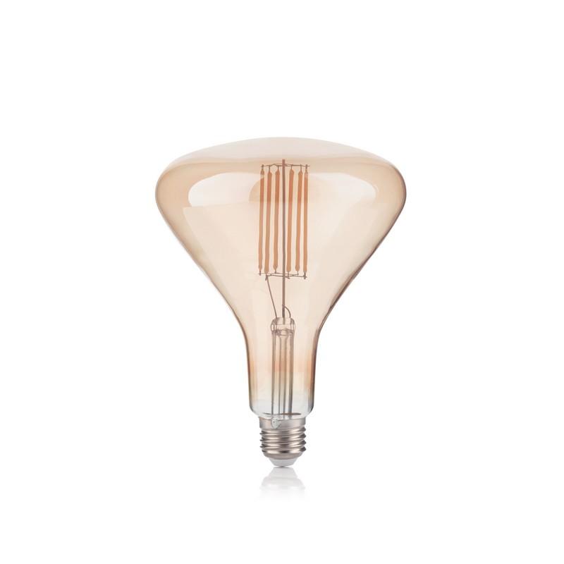 Ampoule LED Poison vintage E27 6 watts ambrée
