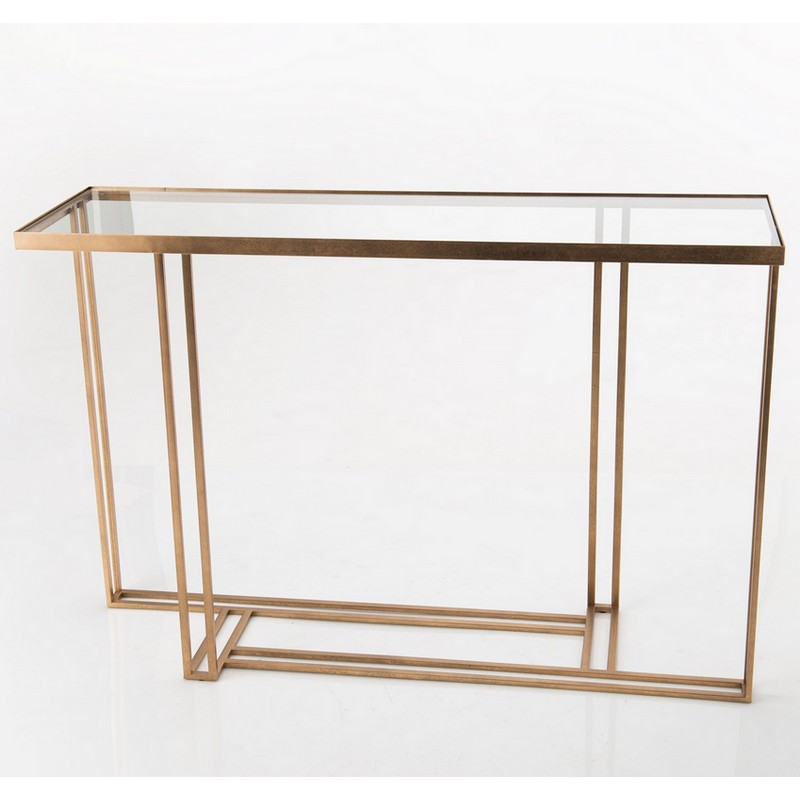 Console Luxe laiton