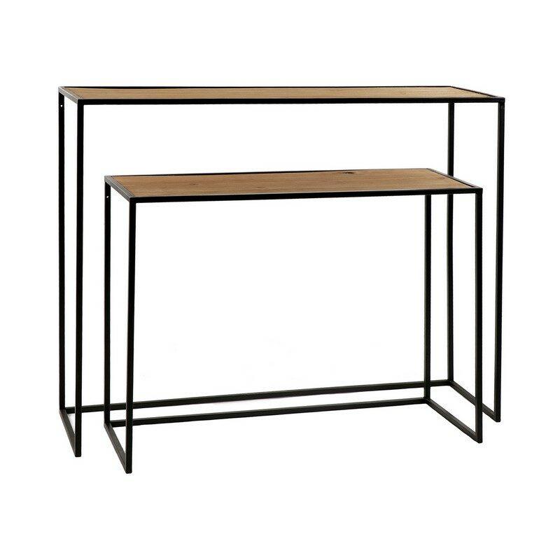 Console en bois et métal Eszential set/2