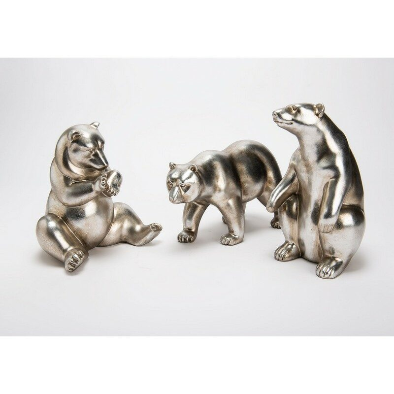 Figurine Ours argenté – au choix