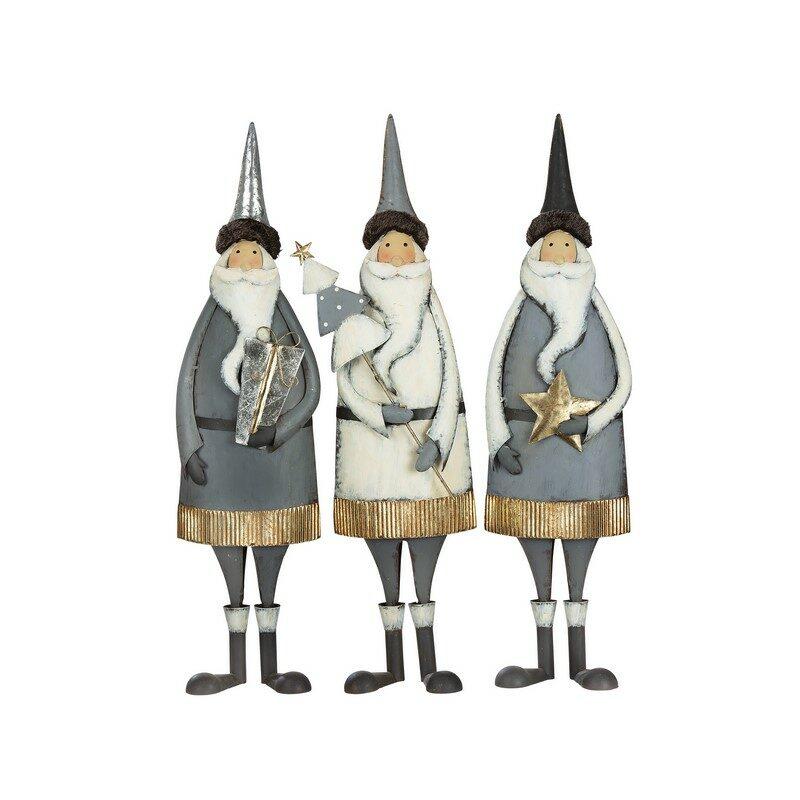 Grande Figurine Noël Santa 76.5 cm – Au Choix
