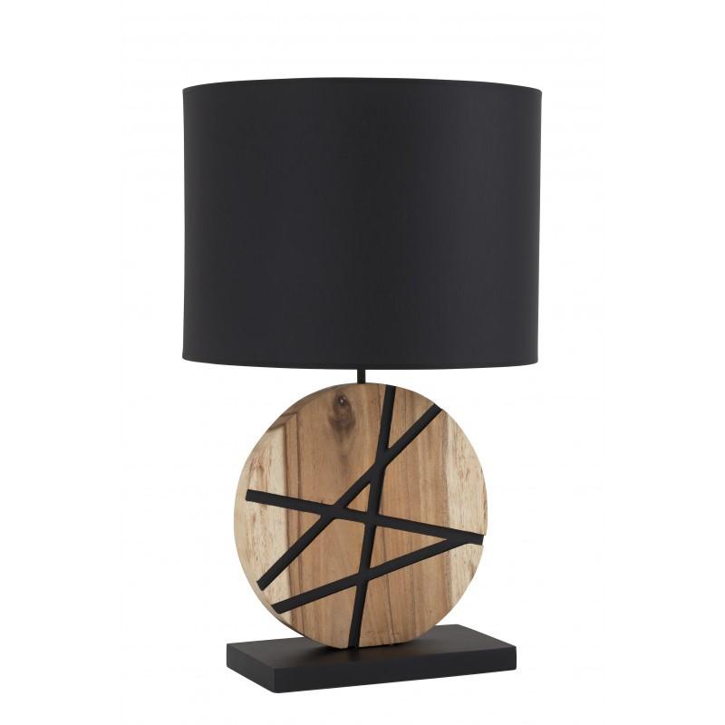 Lampe à poser Gaya en bois flotté