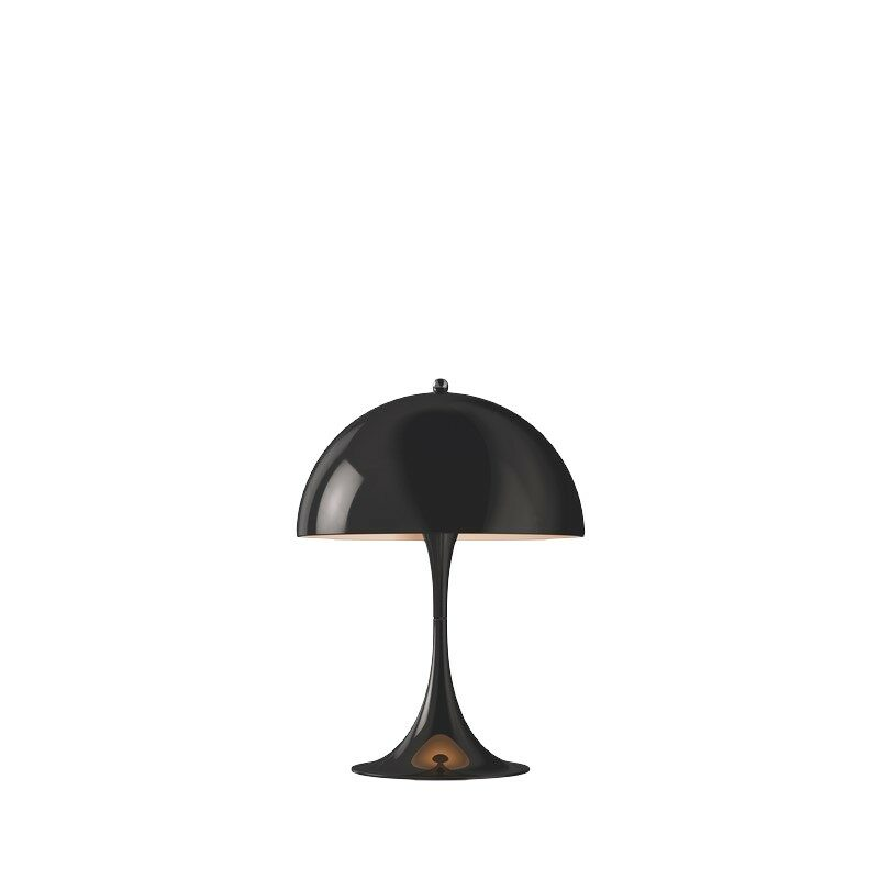Lampe à poser Panthella mini noire LED