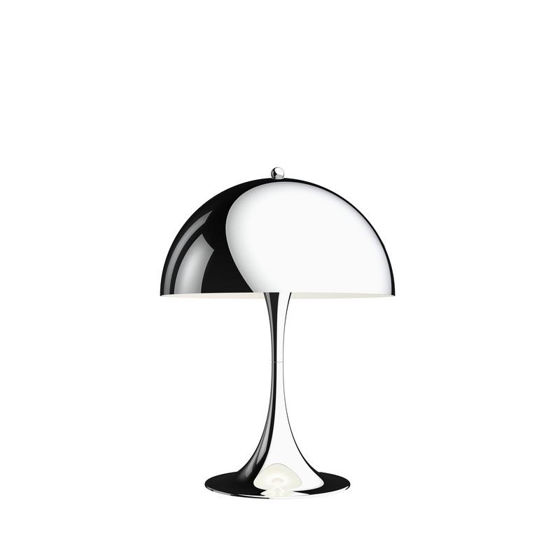 Lampe à poser Panthella 320 chromé haute brillance