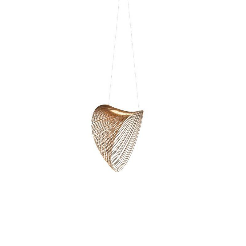 Suspension Illan 60 cm bois clair