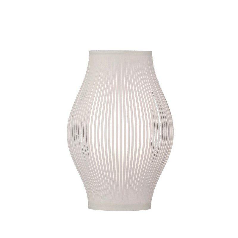 Lampe à poser blanche Mirta 35 cm