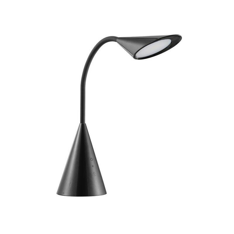Lampe de bureau LED noire Cambridge