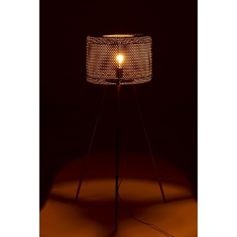 Lampe trépied or 105 cm