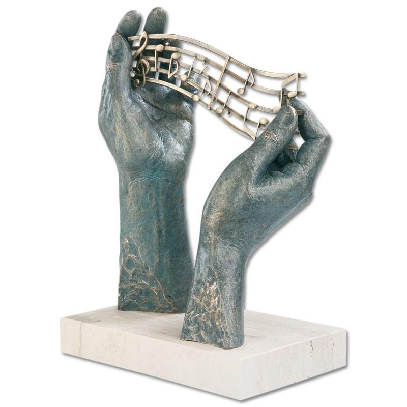 Sculpture Allégorie de la musique
