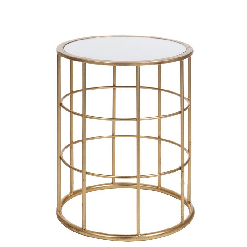 Table gigogne Barre or