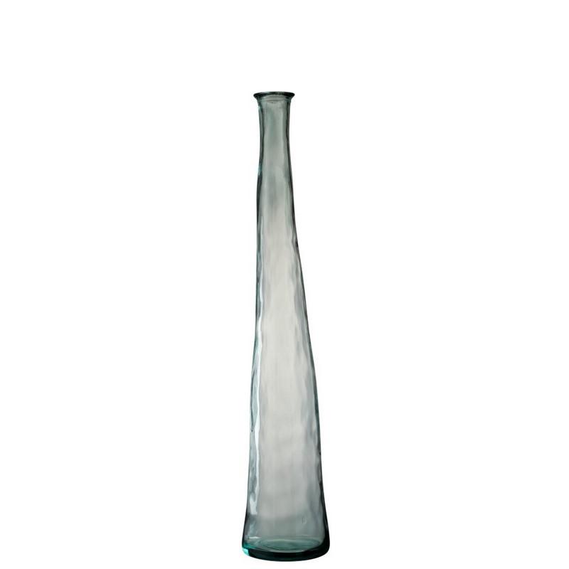 Vase en verre transparent Noah moyen modèle