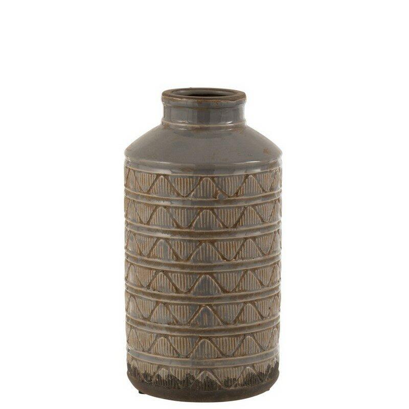 Vase haut Maroc gris
