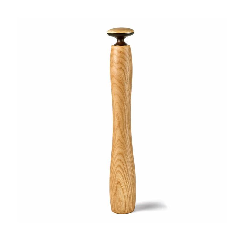 Moulin à sel ou poivre bois clair Hercule 50 cm