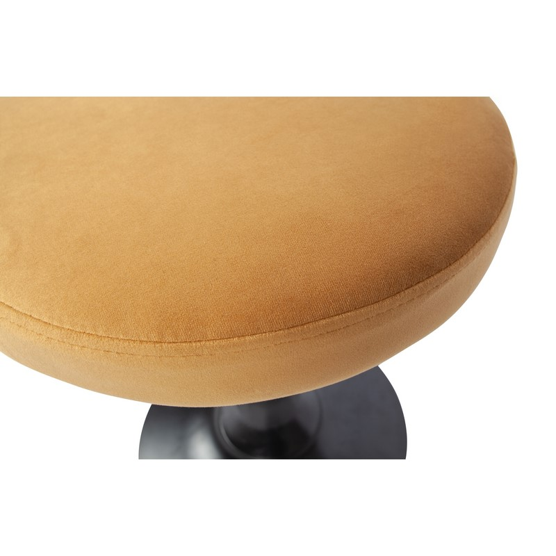 Tabouret Rise velours or