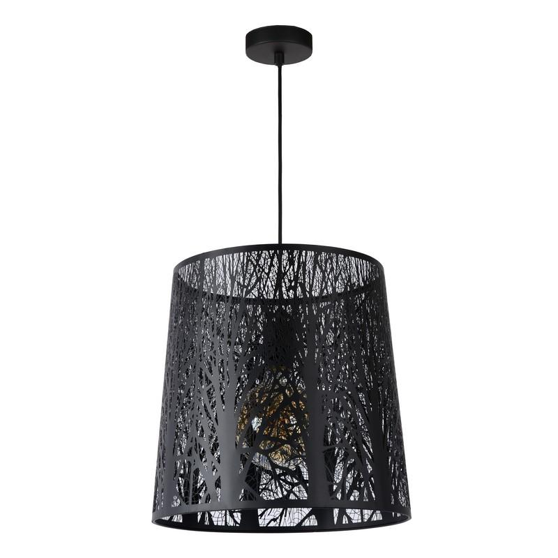 Suspension Garell noire 35 cm