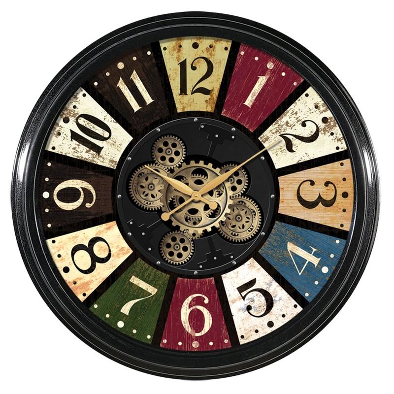 Horloge à engrenages 58 cm