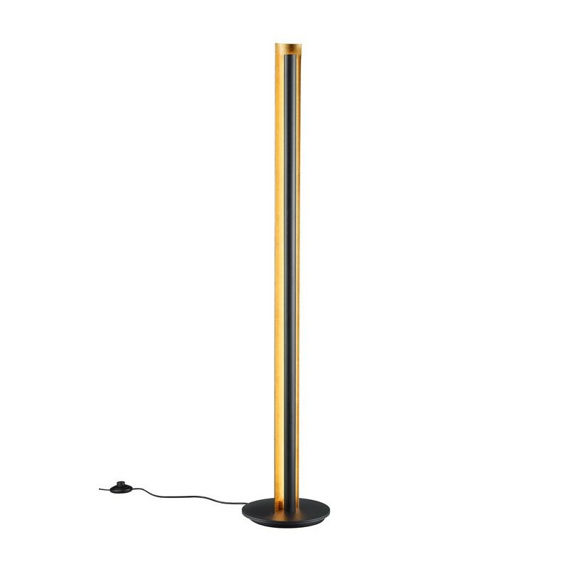 Lampadaire noir dimmable LED Texel