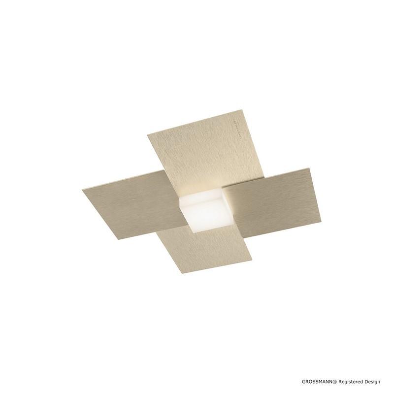 Plafonnier Créo LED champagne 1 lumière