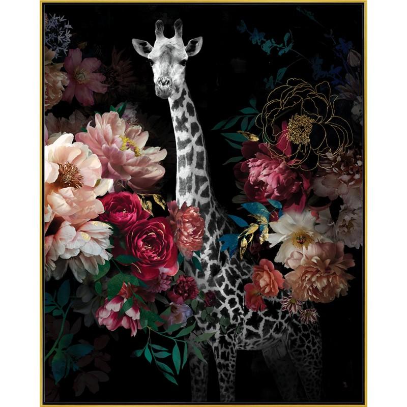 Toile encadrée Girafe