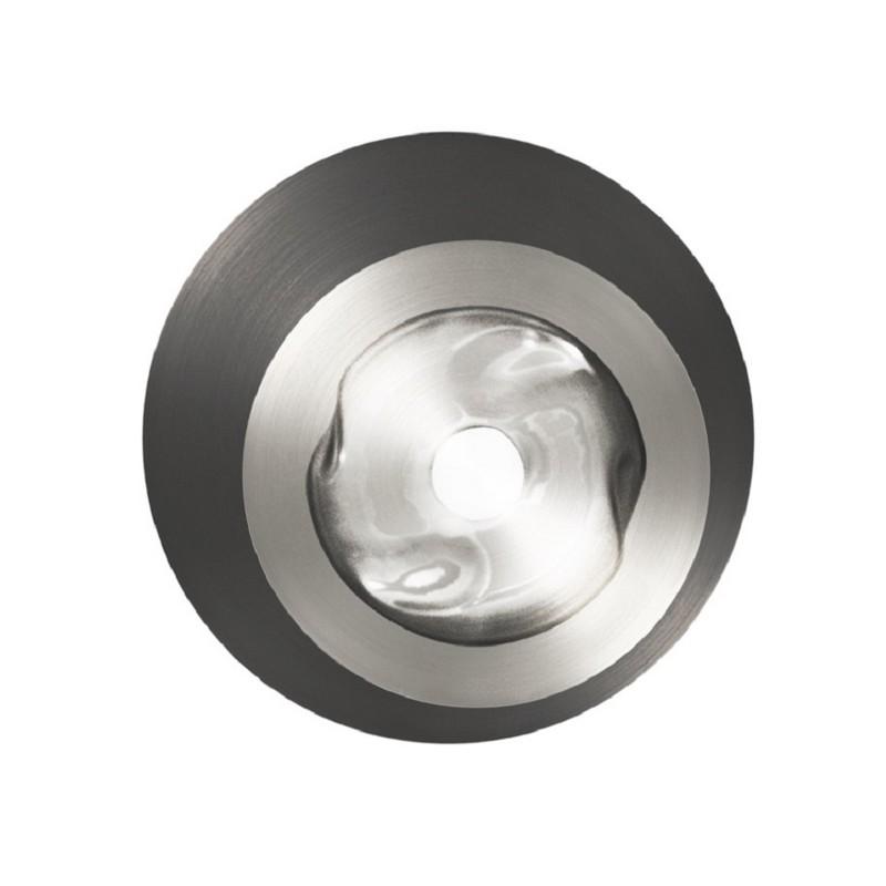 Applique Dots E 1 lumière nickel et graphite
