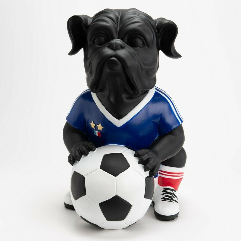 Chien footballer France XL