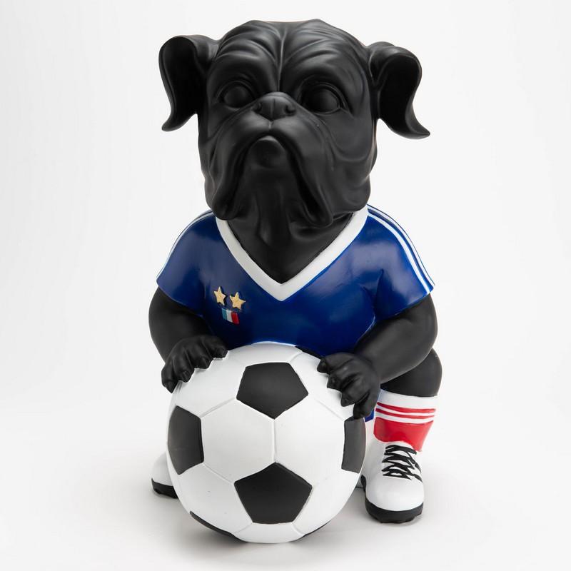 Chien footballer France XL