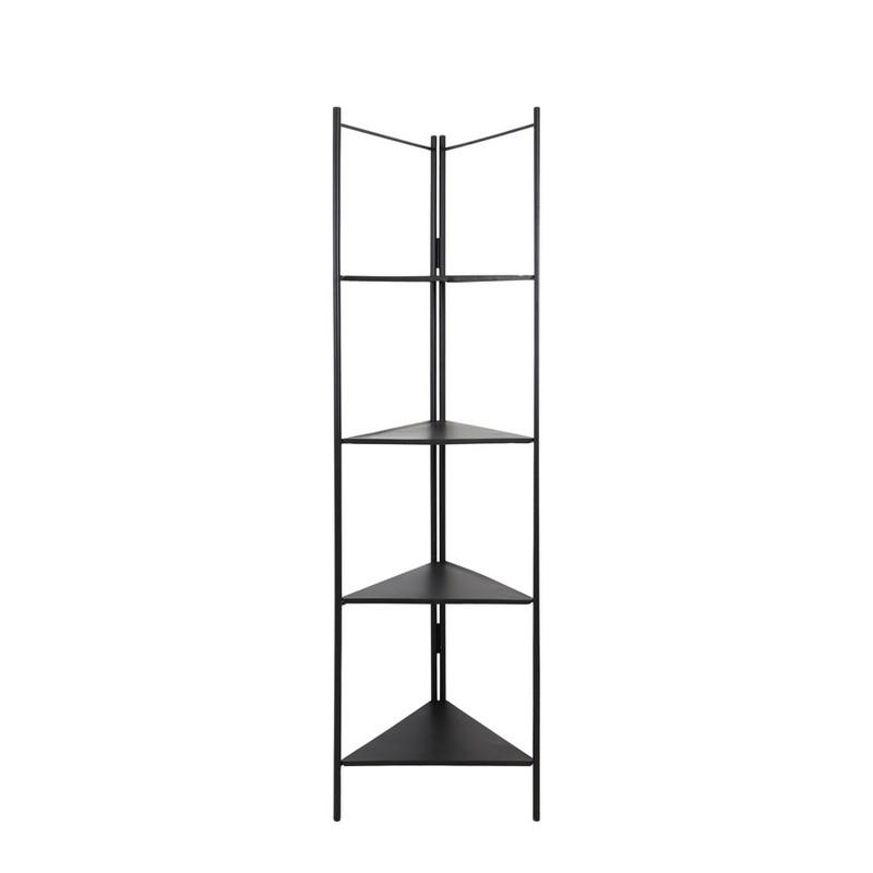 Étagère triangulaire métal noir Display