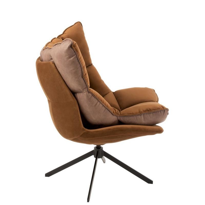 Fauteuil relax marron
