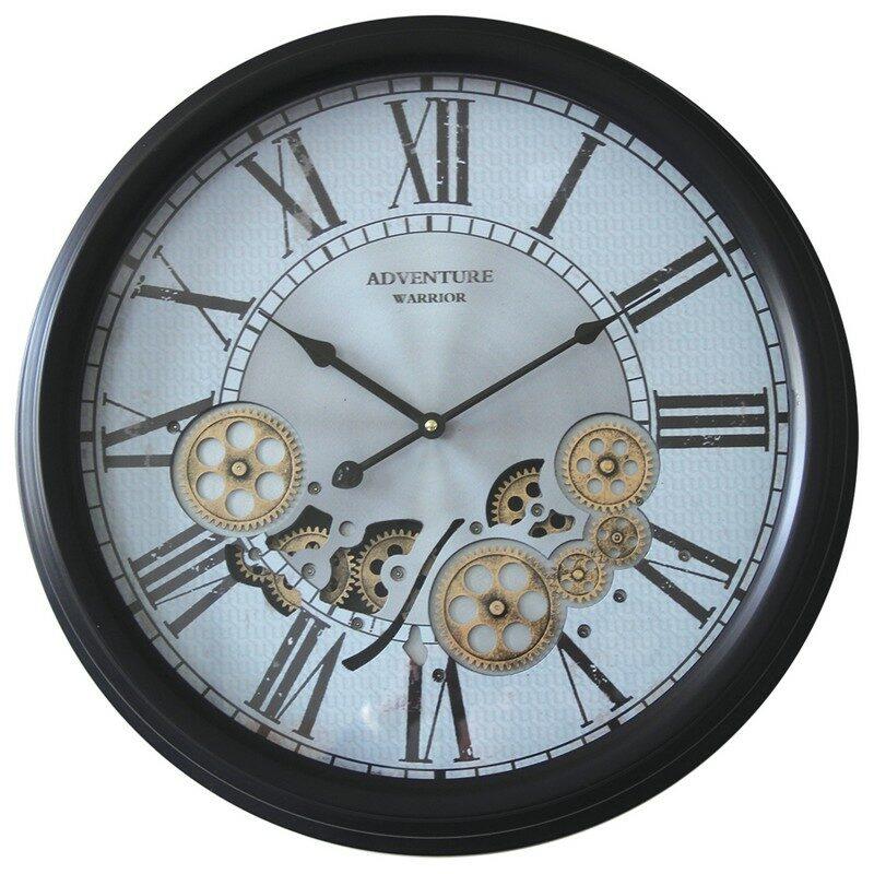 Horloge à engrenages 52.5 cm