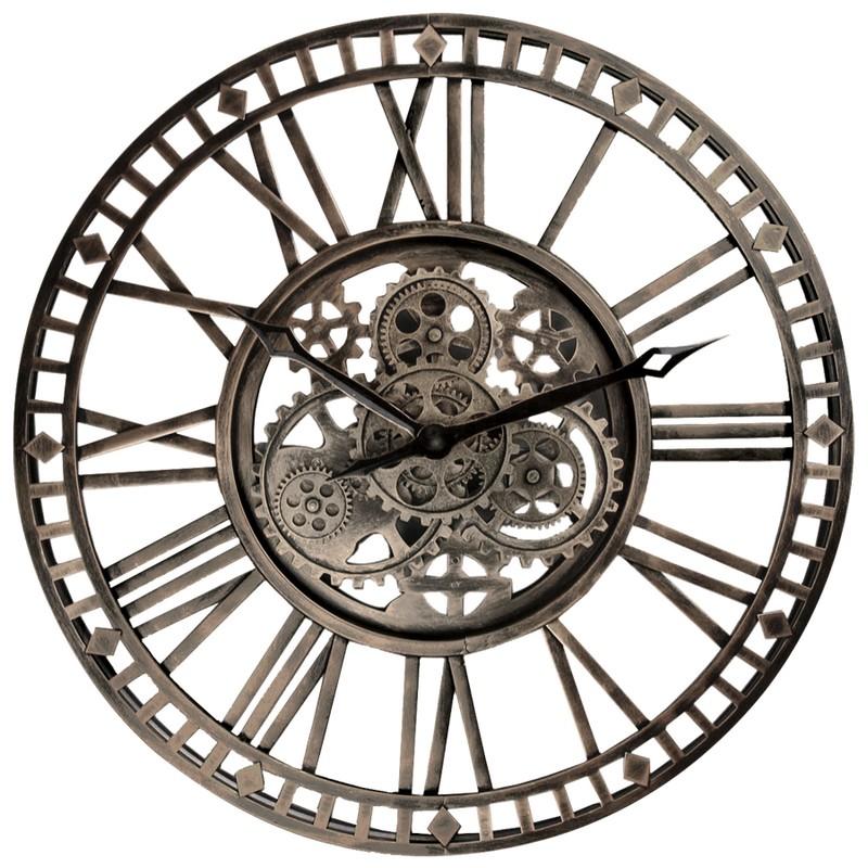 Horloge à engrenages 60 cm