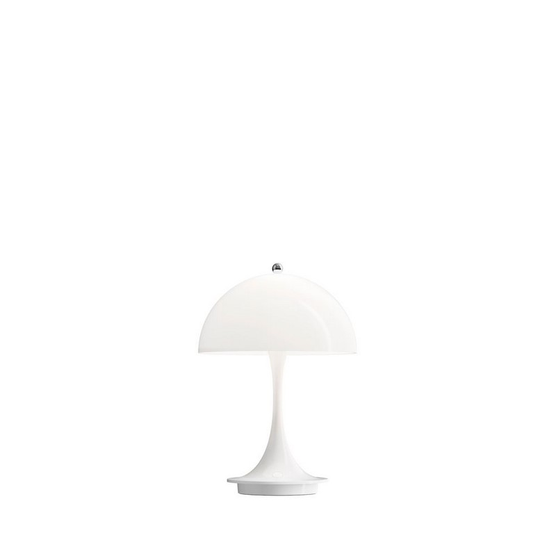 Lampe à poser LED blanche portable Panthella