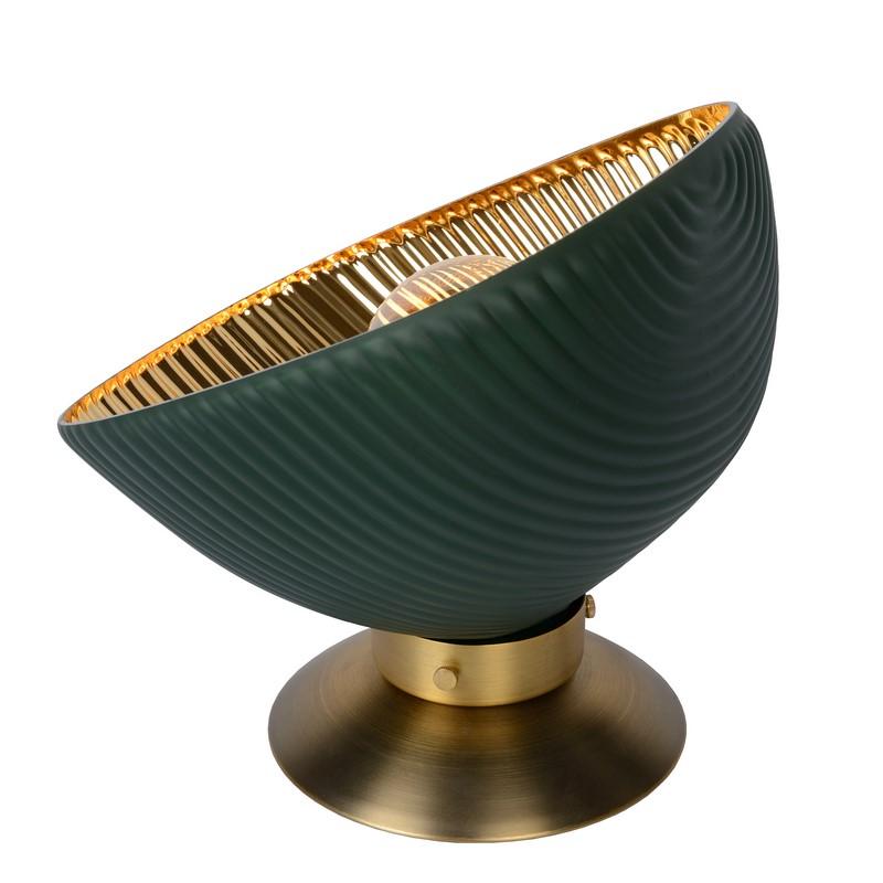 Lampe à poser or et noire Extravaganza Goblett