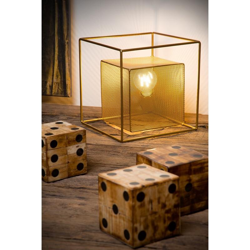 Lampe à poser or mat et laiton Extravaganza Morris