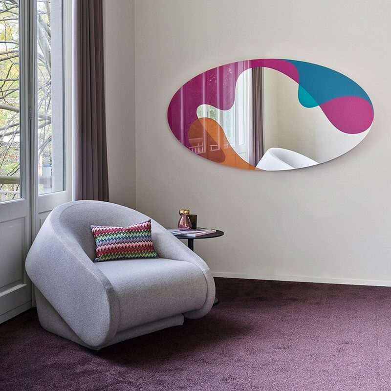 Miroir Spectre multicolore