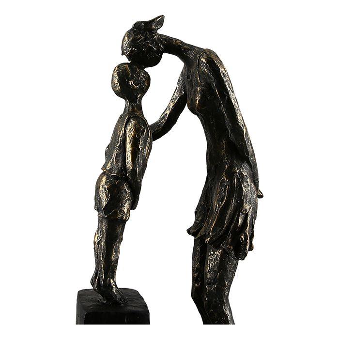 """Sculpture """"Mère et enfant"""""""