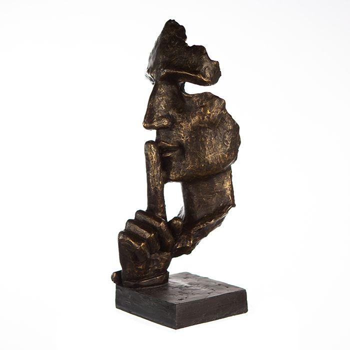 Sculpture Silence bronze