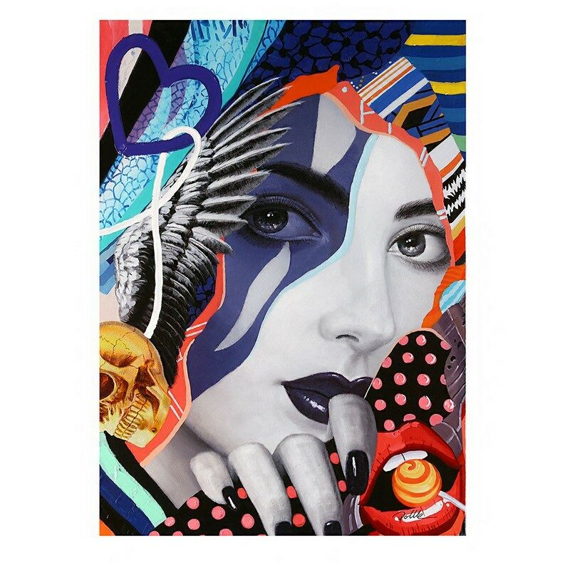 Tableau Pop Art Lady
