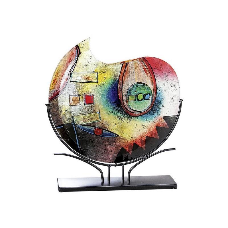 Vase multicolore Glasart